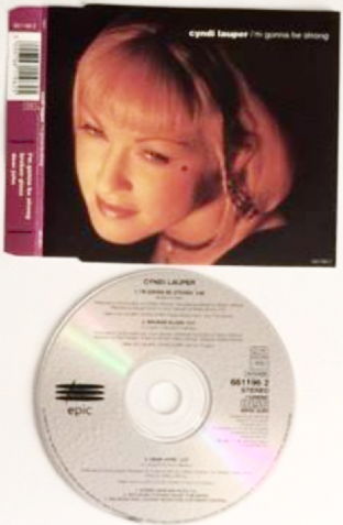 Cyndi Lauper ‎- I'm Gonna Be Strong (CD Single) (VG/EX)